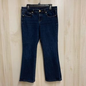Tory Burch Classic Tory Jean Cropped Flare Size 31